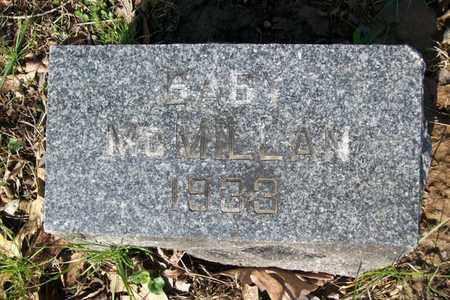 MCMILLAN, BABY - Hancock County, Illinois | BABY MCMILLAN - Illinois Gravestone Photos