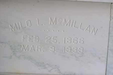 MCMILLAN, MILO LYNN - Hancock County, Illinois   MILO LYNN MCMILLAN - Illinois Gravestone Photos