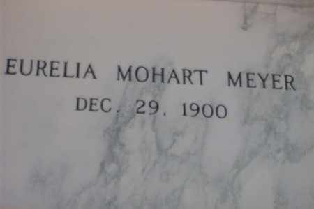 MOHART MEYER, EURELIA A. - Hancock County, Illinois | EURELIA A. MOHART MEYER - Illinois Gravestone Photos