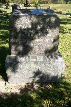 MILBY, CATHERINE - Hancock County, Illinois   CATHERINE MILBY - Illinois Gravestone Photos