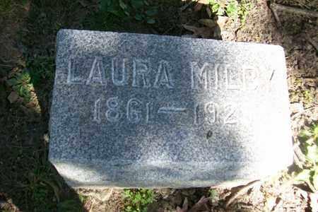 MILBY, LAURA - Hancock County, Illinois | LAURA MILBY - Illinois Gravestone Photos