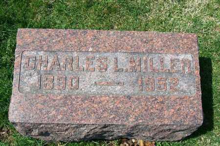 MILLER, CHARLES LELAND - Hancock County, Illinois | CHARLES LELAND MILLER - Illinois Gravestone Photos