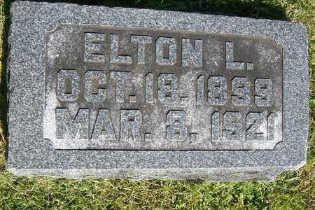 MILLER, ELTON LANCELET - Hancock County, Illinois   ELTON LANCELET MILLER - Illinois Gravestone Photos