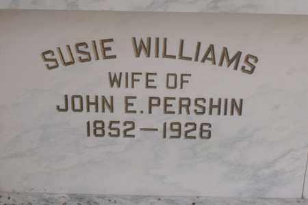 PERSHIN, SUSIE - Hancock County, Illinois | SUSIE PERSHIN - Illinois Gravestone Photos