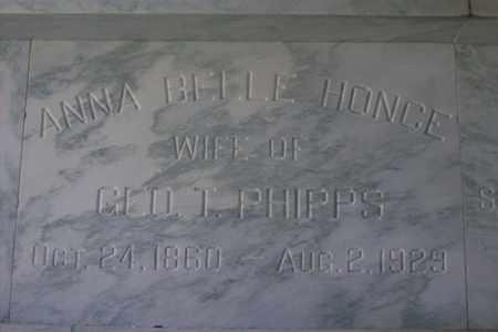 HONCE PHIPPS, ANNA BELLE - Hancock County, Illinois | ANNA BELLE HONCE PHIPPS - Illinois Gravestone Photos