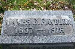 RAYBURN, JAMES GREEN - Hancock County, Illinois | JAMES GREEN RAYBURN - Illinois Gravestone Photos