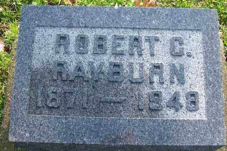 RAYBURN, ROBERT C. - Hancock County, Illinois | ROBERT C. RAYBURN - Illinois Gravestone Photos