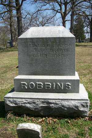 ROBBINS, EDWARD MOTT - Hancock County, Illinois | EDWARD MOTT ROBBINS - Illinois Gravestone Photos