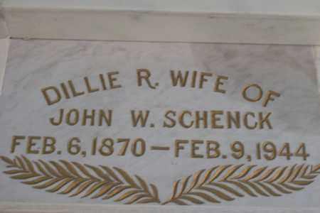 WILSON SCHENCK, DRUSILLA REBECCA - Hancock County, Illinois | DRUSILLA REBECCA WILSON SCHENCK - Illinois Gravestone Photos