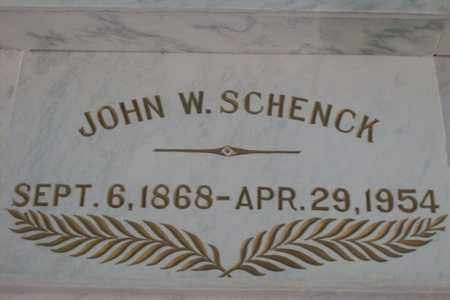 SCHENCK, JOHN WILLIAM - Hancock County, Illinois | JOHN WILLIAM SCHENCK - Illinois Gravestone Photos