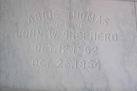 SHEPHERD, ABIGALE  J. - Hancock County, Illinois | ABIGALE  J. SHEPHERD - Illinois Gravestone Photos