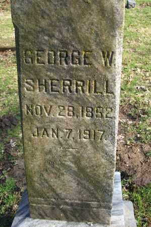 SHERRILL, GEORGE WASHINGTON - Hancock County, Illinois   GEORGE WASHINGTON SHERRILL - Illinois Gravestone Photos