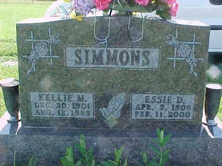 SIMMONS, KELLIE M. - Hancock County, Illinois | KELLIE M. SIMMONS - Illinois Gravestone Photos