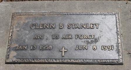 STANLEY, GLENN B. - Hancock County, Illinois   GLENN B. STANLEY - Illinois Gravestone Photos