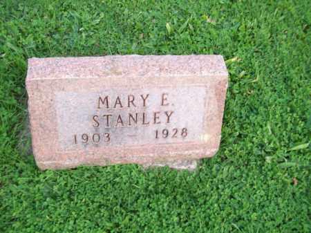 STANLEY, MARY E - Hancock County, Illinois | MARY E STANLEY - Illinois Gravestone Photos