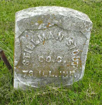 STOUT, STILLMAN - Hancock County, Illinois | STILLMAN STOUT - Illinois Gravestone Photos