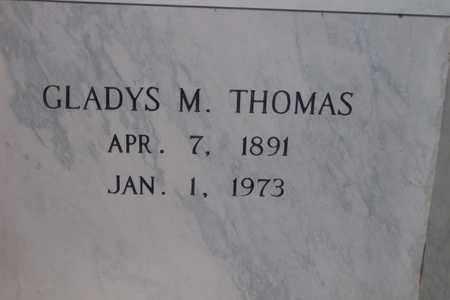 HOLMES THOMAS, GLADYS MAE - Hancock County, Illinois | GLADYS MAE HOLMES THOMAS - Illinois Gravestone Photos