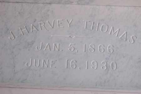 THOMAS, JAMES HARVEY - Hancock County, Illinois | JAMES HARVEY THOMAS - Illinois Gravestone Photos