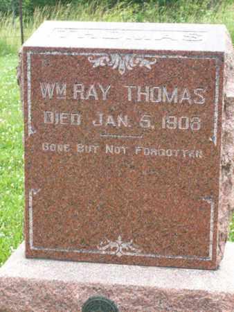 THOMAS, WILLIAM RAY - Hancock County, Illinois   WILLIAM RAY THOMAS - Illinois Gravestone Photos