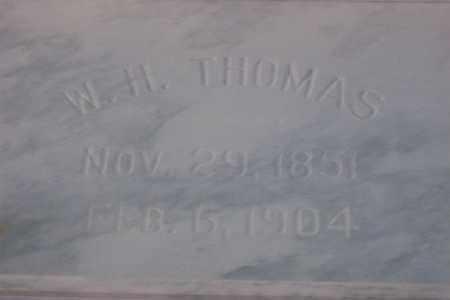 THOMAS, WILLIAM HENRY - Hancock County, Illinois   WILLIAM HENRY THOMAS - Illinois Gravestone Photos