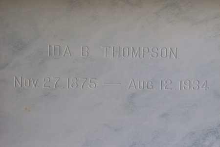 THOMPSON, IDA BELLE - Hancock County, Illinois | IDA BELLE THOMPSON - Illinois Gravestone Photos