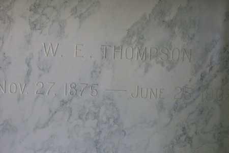 THOMPSON, WILLIAM EDWARD - Hancock County, Illinois   WILLIAM EDWARD THOMPSON - Illinois Gravestone Photos