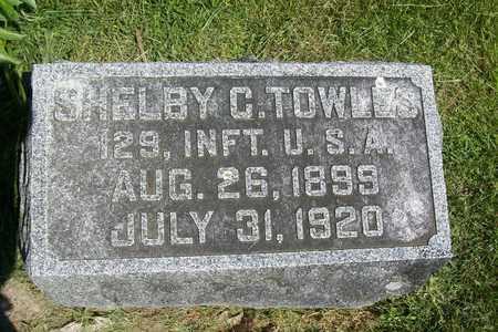 TOWLES, SHELBY CULLOM - Hancock County, Illinois | SHELBY CULLOM TOWLES - Illinois Gravestone Photos