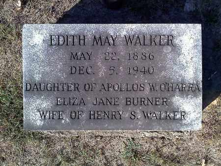 O'HARRA WALKER, EDITH MAE - Hancock County, Illinois | EDITH MAE O'HARRA WALKER - Illinois Gravestone Photos