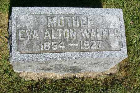 WALKER, EVA - Hancock County, Illinois | EVA WALKER - Illinois Gravestone Photos
