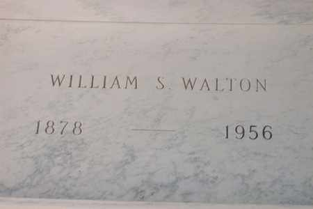 WALTON, WILLIAM SIMEON - Hancock County, Illinois | WILLIAM SIMEON WALTON - Illinois Gravestone Photos