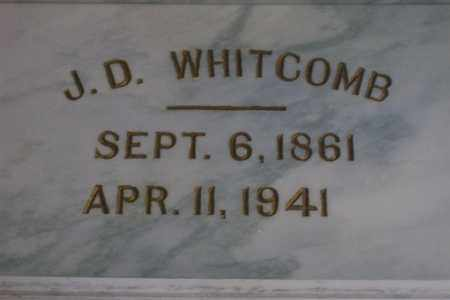 WHITCOMB, JOHN DAVID - Hancock County, Illinois | JOHN DAVID WHITCOMB - Illinois Gravestone Photos