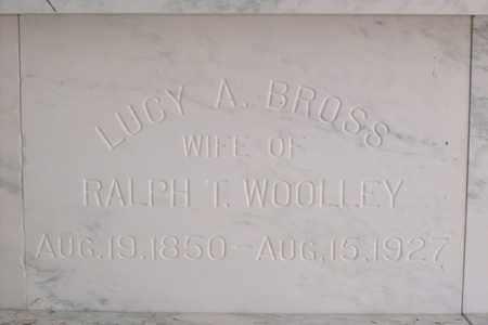 WOOLLEY, LUCINDA A. - Hancock County, Illinois | LUCINDA A. WOOLLEY - Illinois Gravestone Photos