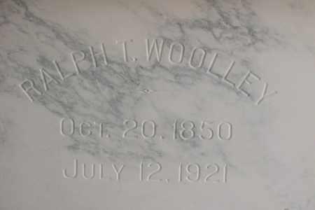 WOOLLEY, RALPH T. - Hancock County, Illinois | RALPH T. WOOLLEY - Illinois Gravestone Photos