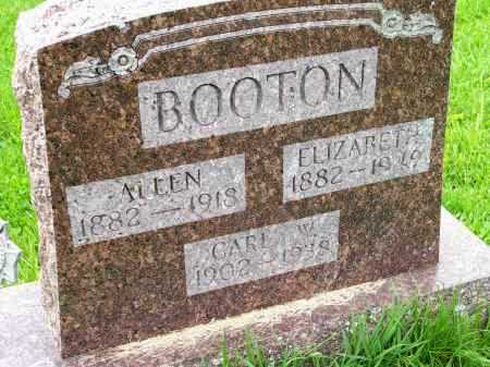 EVANS BOOTON, ELIZABETH CORDILLA - Henderson County, Illinois | ELIZABETH CORDILLA EVANS BOOTON - Illinois Gravestone Photos
