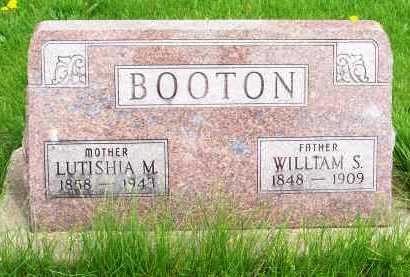 BOOTON, LUTISHIA MERILDA - Henderson County, Illinois | LUTISHIA MERILDA BOOTON - Illinois Gravestone Photos