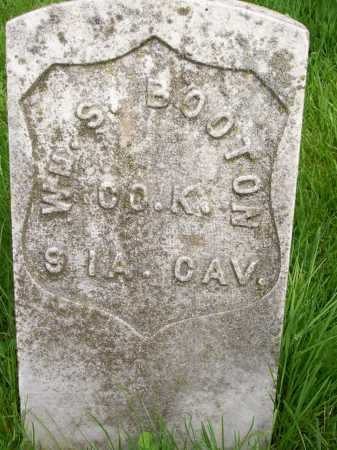 BOOTON, WM. S. - Henderson County, Illinois   WM. S. BOOTON - Illinois Gravestone Photos