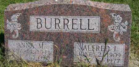BURRELL, ANNA M. - Henderson County, Illinois | ANNA M. BURRELL - Illinois Gravestone Photos