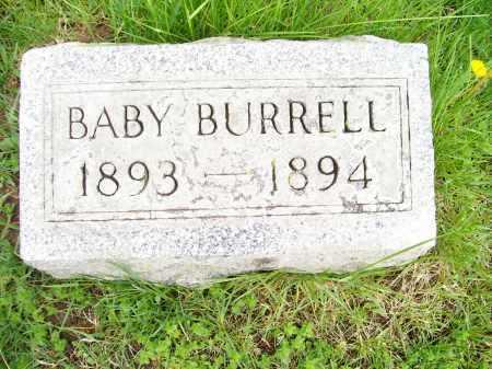 BURRELL, BABY - Henderson County, Illinois | BABY BURRELL - Illinois Gravestone Photos