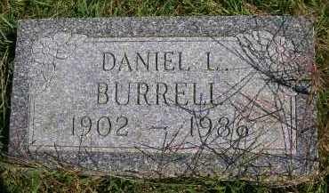 BURRELL, DANIEL L. - Henderson County, Illinois | DANIEL L. BURRELL - Illinois Gravestone Photos