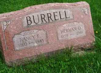 BURRELL, HERMAN ORSON - Henderson County, Illinois | HERMAN ORSON BURRELL - Illinois Gravestone Photos