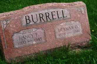 BURRELL, HERMAN O. - Henderson County, Illinois | HERMAN O. BURRELL - Illinois Gravestone Photos