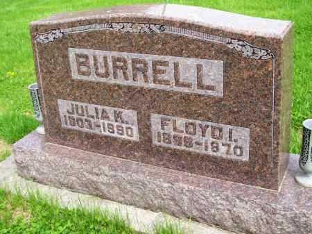 SCHNICKER BURRELL, JULIA K. - Henderson County, Illinois | JULIA K. SCHNICKER BURRELL - Illinois Gravestone Photos