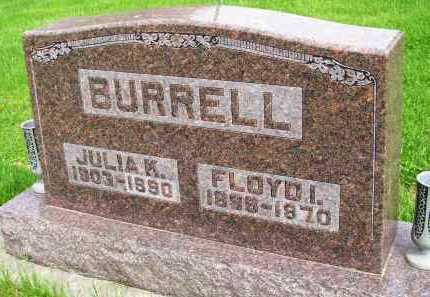 BURRELL, JULIA K. - Henderson County, Illinois | JULIA K. BURRELL - Illinois Gravestone Photos