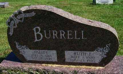 BURRELL, RUTH I. - Henderson County, Illinois | RUTH I. BURRELL - Illinois Gravestone Photos