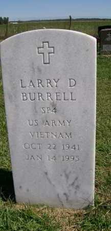 BURRELL, LARRY D. - Henderson County, Illinois   LARRY D. BURRELL - Illinois Gravestone Photos