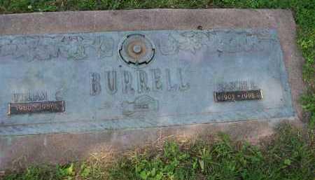 BURRELL, WILLIAM CLINTON - Henderson County, Illinois | WILLIAM CLINTON BURRELL - Illinois Gravestone Photos