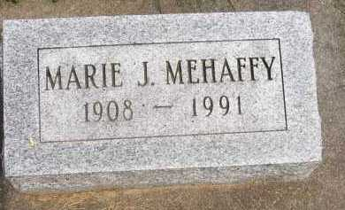 MEHAFFY, MARIE J. - Henderson County, Illinois | MARIE J. MEHAFFY - Illinois Gravestone Photos