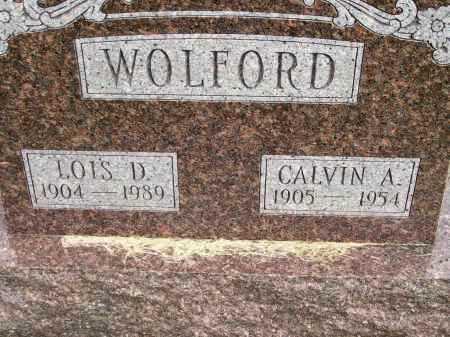 WOLFORD, LOIS D. - Henderson County, Illinois | LOIS D. WOLFORD - Illinois Gravestone Photos