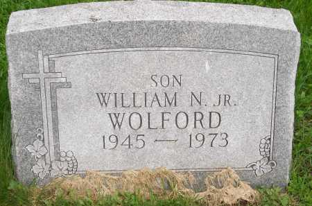 WOLFORD, WILLIAM N. JR. - Henderson County, Illinois | WILLIAM N. JR. WOLFORD - Illinois Gravestone Photos