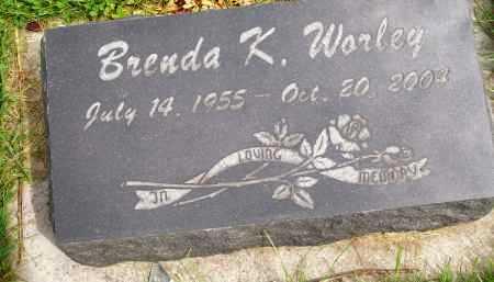 WORLEY, BRENDA K. - Henderson County, Illinois | BRENDA K. WORLEY - Illinois Gravestone Photos